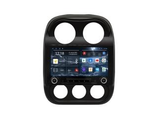 Штатная магнитола Redpower 71316 KNOB для Jeep Compass 2010-2016 с DSP процессором, 4G модемом и CarPlay на Android 10