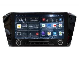 Штатная магнитола Redpower 71401 KNOB для Volkswagen Passat B8 2015+ с DSP процессором, 4G модемом и CarPlay на Android 10