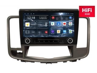 Штатная магнитола Redpower 75300 KNOB для Nissan Teana 2008-2013 с монохромным дисплеем с DSP процессором, 4G модемом и CarPlay на Android 10
