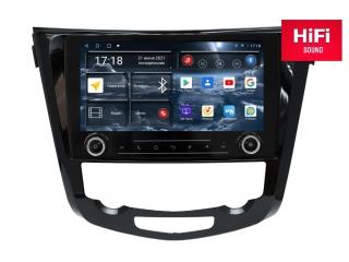 Штатная магнитола Redpower 75301 KNOB для Nissan X-Trail, Qashqai 2014+ С КЛИМАТОМ с DSP процессором, 4G модемом и CarPlay на Android 10