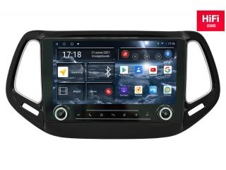 Штатная магнитола Redpower 75315 KNOB для Jeep Compass 2017+ с DSP процессором, 4G модемом и CarPlay на Android 10