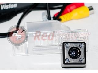 Камера заднего вида RedPower NIS095 AHD для Citroen C4, С5, Рeugeot 308, 408, Nissan