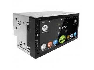 Штатная магнитола Roximo CarDroid RD-1005D 2DIN Универсальная 7 slim с DSP процессором на Android 9