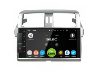 Штатная магнитола Roximo CarDroid RD-1116F для Toyota LC Prado 150 13+ с DSP процессором и 4G модемом на Android 10