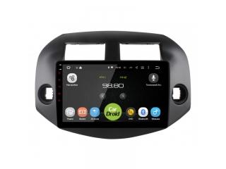 Штатная магнитола Roximo CarDroid RD-1120F для Toyota RAV4 2006-2012 с DSP процессором на Android 9