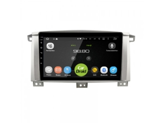 Штатная магнитола Roximo CarDroid RD-1123F для Toyota Land Cruiser 100 с DSP процессором на Android 9