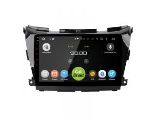 Штатная магнитола Roximo CarDroid RD-1206F для Nissan Murano Z52 с DSP процессором и 4G модемом на Android 10