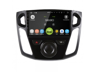 Штатная магнитола Roximo CarDroid RD-1701F для Ford Focus 3 2011-2017 с DSP процессором на Android 9