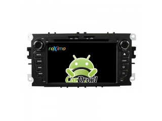 Штатная магнитола Roximo CarDroid RD-1702DB для Ford Focus 2, Mondeo с DSP процессором на Android 9
