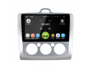 Штатная магнитола Roximo CarDroid RD-1702FM для Ford Focus 2, S-max с DSP процессором на Android 9