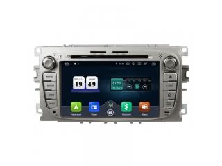 Штатная магнитола Roximo RD-1702S для Ford Mondeo, Focus 2 с 4G модемом на Android 10