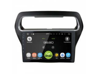 Штатная магнитола Roximo CarDroid RD-1714F для Ford Escort с DSP процессором на Android 9