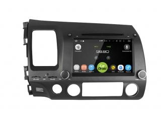 Штатная магнитола Roximo CarDroid RD-1901D для Honda Civic 8 4d с DSP процессором на Android 9