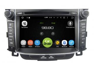 Штатная магнитола Roximo CarDroid RD-2004 для Hyundai i30 2, 2012, GD на Android 8.1