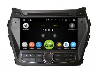 Штатная магнитола Roximo CarDroid RD-2009D для Hyundai Santa Fe 3 2012+ с DSP процессором на Android 9