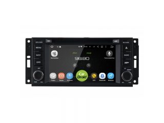 Штатная магнитола Roximo CarDroid RD-2201D для Jeep, Chrysler 2005-2008 с DSP процессором на Android 9