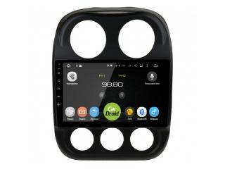 Штатная магнитола Roximo CarDroid RD-2203F для Jeep Compass 2011-2016 с DSP процессором и 4G модемом на Android 10