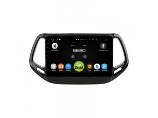 Штатная магнитола Roximo CarDroid RD-2204F для Jeep Compass 2017+ с DSP процессором и 4G модемом на Android 10