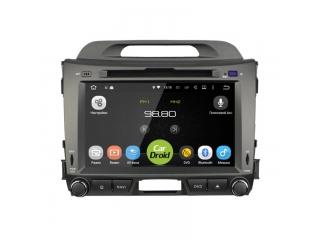 "Штатная магнитола Roximo CarDroid RD-2311D для Kia Sportage 3 8"" с DSP процессором на Android 9"
