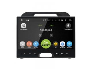 Штатная магнитола Roximo CarDroid RD-2313F для KIA Sportage 3 10 дюймов с DSP процессором на Android 9