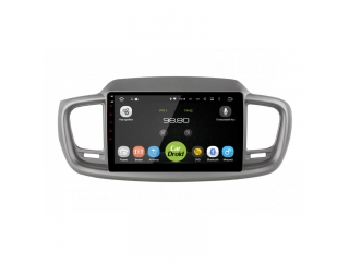 Штатная магнитола Roximo CarDroid RD-2317F для Kia Sorento Prime с DSP процессором на Android 9