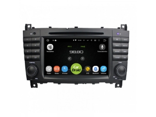 Штатная магнитола Roximo CarDroid RD-2502D для Mercedes Benz C-Class W203, CLK W209, G-Class W463 с DSP процессором на Android 8.1