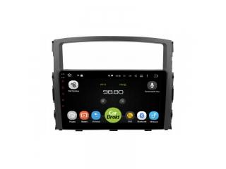 Штатная магнитола Roximo CarDroid RD-2603F для Mitsubishi Pajero 4 с DSP процессором на Android 9