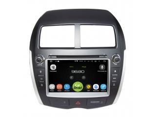 Штатная магнитола Roximo CarDroid RD-2604D для Mitsubishi ASX, Peugeot 4008, Citroen C4 Aircross с DSP процессором на Android 9