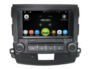 Штатная магнитола Roximo CarDroid RD-2606D для Mitsubishi Outlander XL с DSP процессором на Android 9