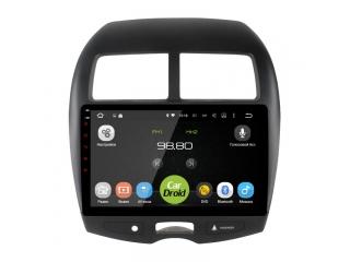 Штатная магнитола Roximo CarDroid RD-2614F для Mitsubishi ASX, Peugeot 4008, Citroen C4 Aircross с DSP процессором и 4G модемом на Android 10