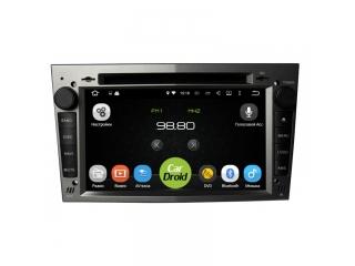 Штатная магнитола Roximo CarDroid RD-2801DB для Opel Astra, Vectra, Corsa (черный) с DSP процессором на Android 8.1