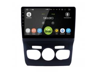 Штатная магнитола Roximo CarDroid RD-2906F для Citroen C4 с DSP процессором и 4G модемом на Android 10