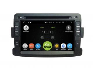 Штатная магнитола Roximo CarDroid RD-3001D для Renault Duster, Sandero, Logan 2 с DSP процессором на Android 8.1