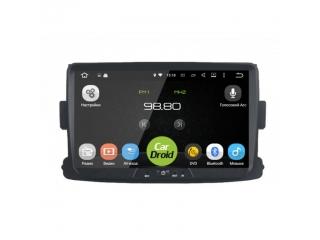 Штатная магнитола Roximo CarDroid RD-3002D для Renault Duster, Sandero, Logan 2 с DSP процессором на Android 9