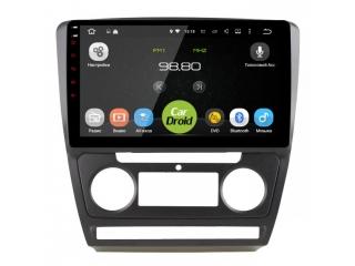 Штатная магнитола Roximo CarDroid RD-3202FB для Skoda Octavia A5 (черная) с DSP процессором на Android 9