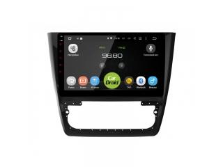 Штатная магнитола Roximo CarDroid RD-3204F для Skoda Yeti с DSP процессором на Android 9