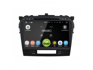 Штатная магнитола Roximo CarDroid RD-3504D для Suzuki Vitara 2 2015 с DSP процессором на Android 9