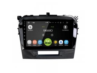 Штатная магнитола Roximo CarDroid RD-3504F для Suzuki Vitara с DSP процессором на Android 10