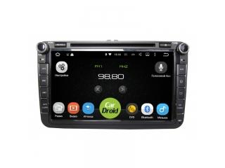 Штатная магнитола Roximo CarDroid RD-3701D для Volkswagen, Skoda, Seat Универсальная с DSP процессором на Android 9