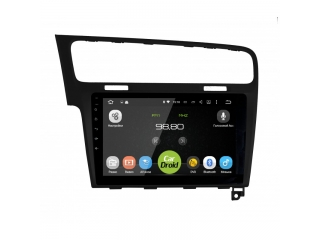 Штатная магнитола Roximo CarDroid RD-3715FB для Volkswagen Golf 7 (черная) с DSP процессором на Android 9