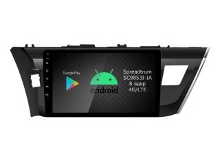 Штатная магнитола Roximo RI-1103 для Toyota Corolla e160 на Android 9