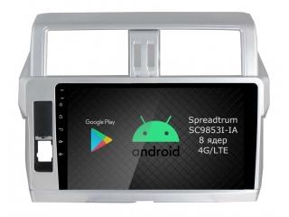 Штатная магнитола Roximo RI-1116 для Toyota Land Cruiser Prado 150 2013-2017 c DSP процессором и 4G Sim на Android 10
