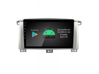 Штатная магнитола Roximo CarDroid RD-1212F Toyota LC 100 с DSP процессором c DSP процессором и 4G Sim на Android 10