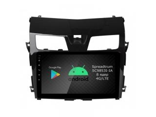 Штатная магнитола Roximo RI-1203 для Nissan Teana 2014-2016 c DSP процессором и 4G Sim на Android 10