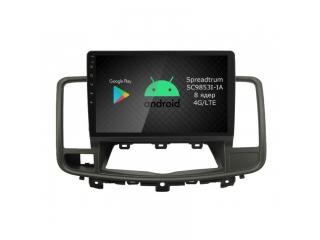 Штатная магнитола Roximo RI-1205 для Nissan Teana 2008-2014 c DSP процессором и 4G Sim на Android 9
