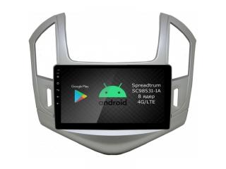 Штатная магнитола Roximo RI-1305 для Chevrolet Cruze 2013-2015 c DSP процессором и 4G Sim на Android 10