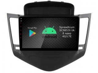 Штатная магнитола Roximo RI-1308 для Chevrolet Cruze 2009-2013 c DSP процессором и 4G Sim на Android 10