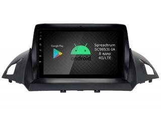 Штатная магнитола Roximo RI-1716 для Ford Kuga на Android 9