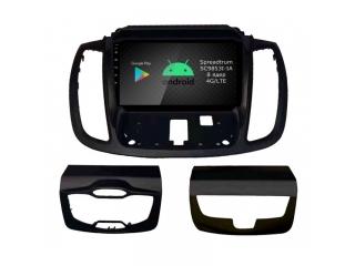 Штатная магнитола Roximo RI-1717 для Ford Kuga 2012-2019 (со штатной нави) c DSP процессором и 4G Sim на Android 9