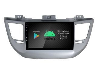 Штатная магнитола Roximo RI-2013 для Hyundai Tucson 2016-2018 c DSP процессором и 4G Sim на Android 10